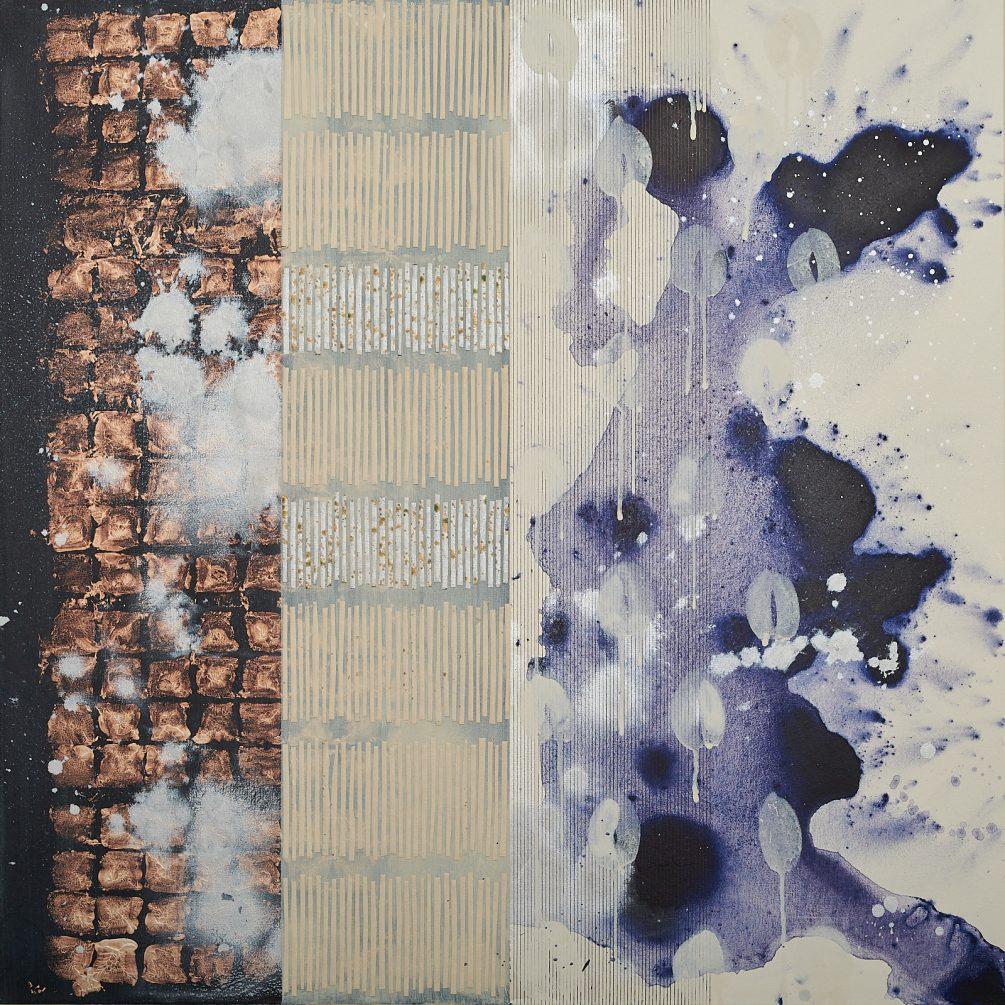 36″x36″-2- mixed media on canvas 2018